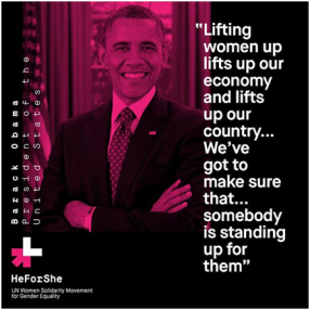 Obama - He for She